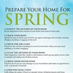 10 Ways To Prepare Your Home For Spring
