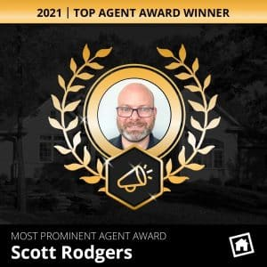 Scott Rodgers 2021 Top Agent Award